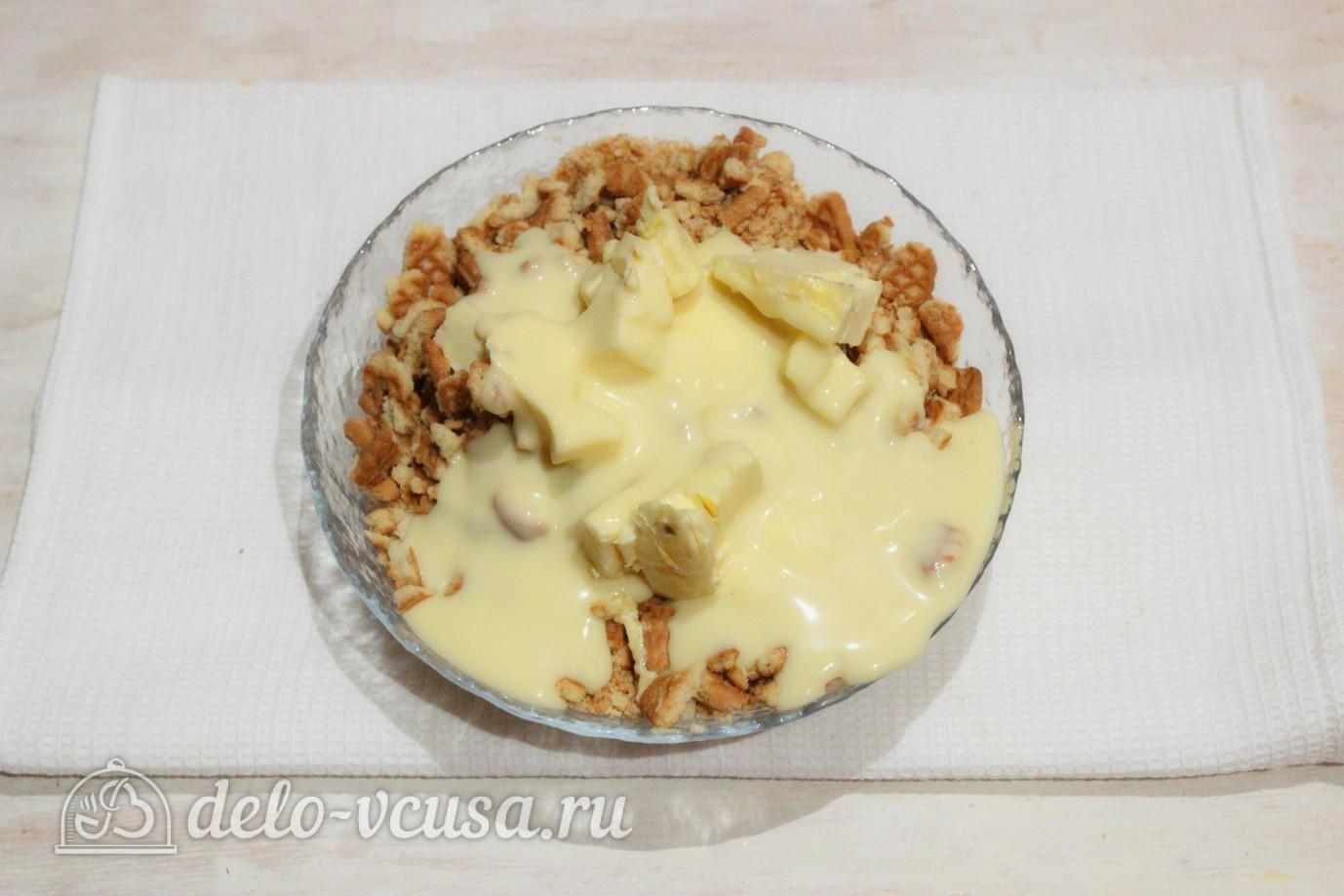Рецепт солдатского торта из печенья