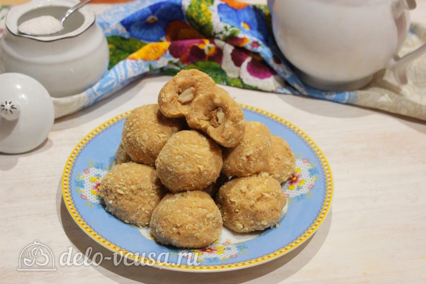 Рецепт сладкой картошки из печенья со сгущенкой пошагово