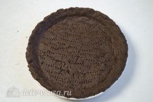 Шоколадный тарт: Остужаем готовую основу
