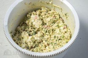 Салат из лапши быстрого приготовления