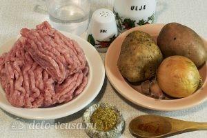 Котлеты из фарша индейки: Ингредиенты