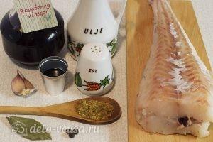 Стейк пикши в духовке: Ингредиенты