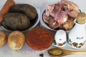 Суп из куриных крылышек: Ингредиенты