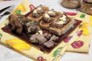 Свинина с горчицей в фольге