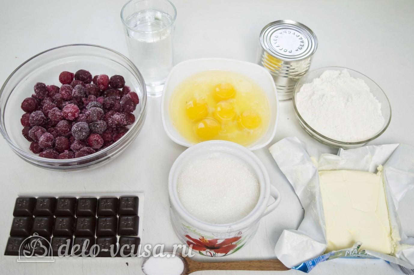 Торт пьяная вишня ингредиенты