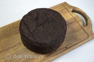 Торт Пьяная вишня: Даем бисквиту отлежаться