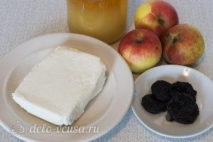 Десерт из яблок и творога: Ингредиенты