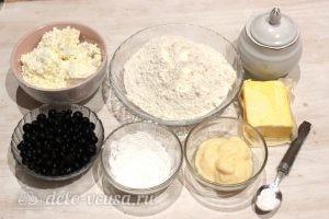 Творожный пирог со смородиной: Ингредиенты