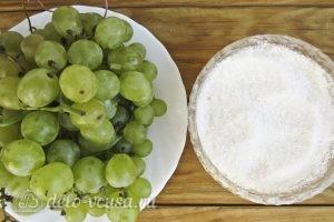 Виноградное варенье: Ингредиенты