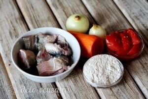 Рыба под маринадом: Ингредиенты