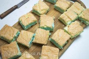 Бисквитное пирожное со сливочным кремом: Придаем пирожным желаемый размер
