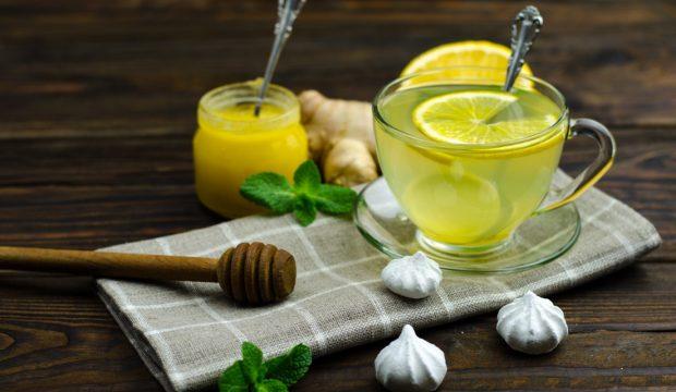 Как пить чай с имбирем и лимоном