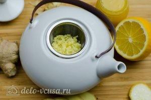 Имбирный чай с лимоном: Добавляем имбирь