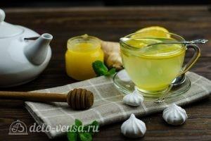 Имбирный чай с лимоном: Добавляем мед