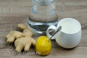 Имбирный чай с медом: Ингредиенты