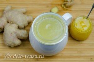 Имбирный чай с медом: Накрыть крышкой