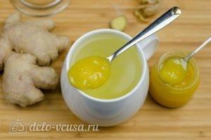 Имбирный чай с медом: Добавить мед