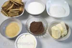 Кокосовый чизкейк: Ингредиенты