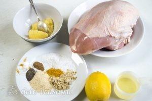Куриная грудка в духовке: Ингредиенты