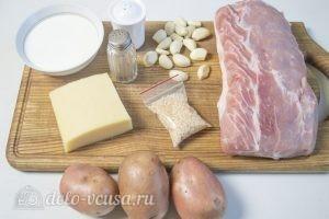 Мясные рулеты с картофелем: Ингредиенты