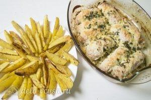 Мясные рулеты с картофелем: Подаем блюдо к столу