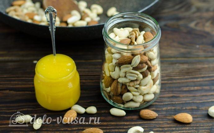 Орехи меде фото рецепт