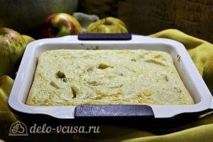 Пирог с манкой и яблоками: Выпекаем пирог