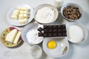 Пирог с шоколадом и орехами: Ингредиенты