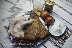 Мясная солянка: Ингредиенты
