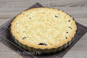 Тертый пирог с вареньем: Выпекаем пирог до готовности