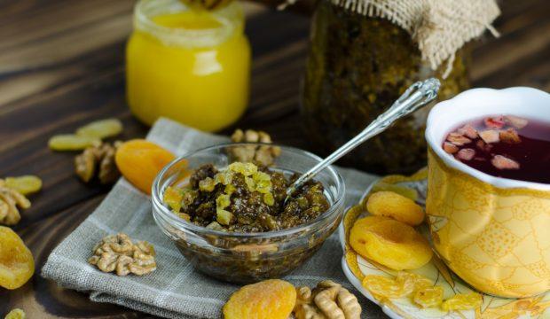 Витаминная смесь из сухофруктов рецепт с фото