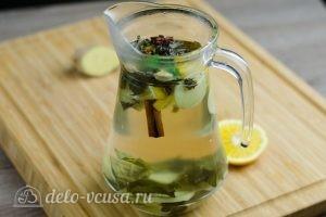 Зеленый чай с имбирем и корицей: Завариваем чай