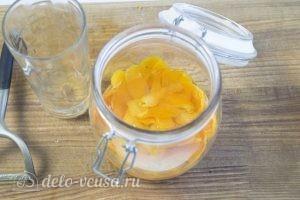 Апельсиновый экстракт: Заливаем цедру спиртом