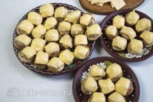 Бублики с фаршем в духовке: Подавать с салатами
