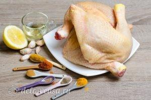 Куриные окорочка в духовке: Ингредиенты
