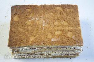 Медовик на желтках: Отправляем торт в холодильник