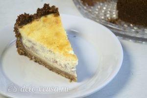 Пирог Сметанник: Нарезать и подать пирог