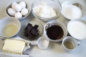 Шоколадно-карамельный торт: Ингредиенты