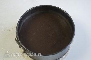 Шоколадно-карамельный торт: Выпечь тесто