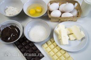 Сливочно-шоколадный торт: Ингредиенты