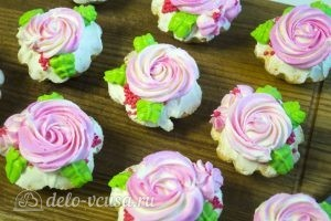 Ванильные кексы: Украшаем кексы