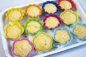 Ванильные кексы: Даем кексам остыть