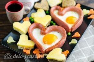 Яичница Сердце