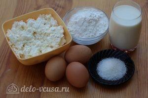 Блинно-творожный торт: Ингредиенты
