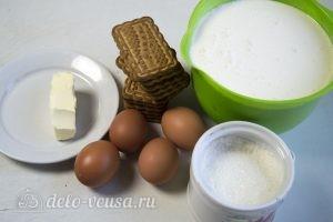 Домашний чизкейк: Ингредиенты