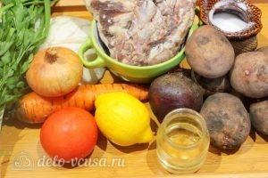Борщ с бараниной: Ингредиенты
