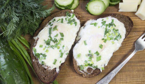 омлет в хлебе рецепт в духовке