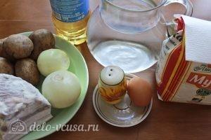 Картофельные клецки: Ингредиенты