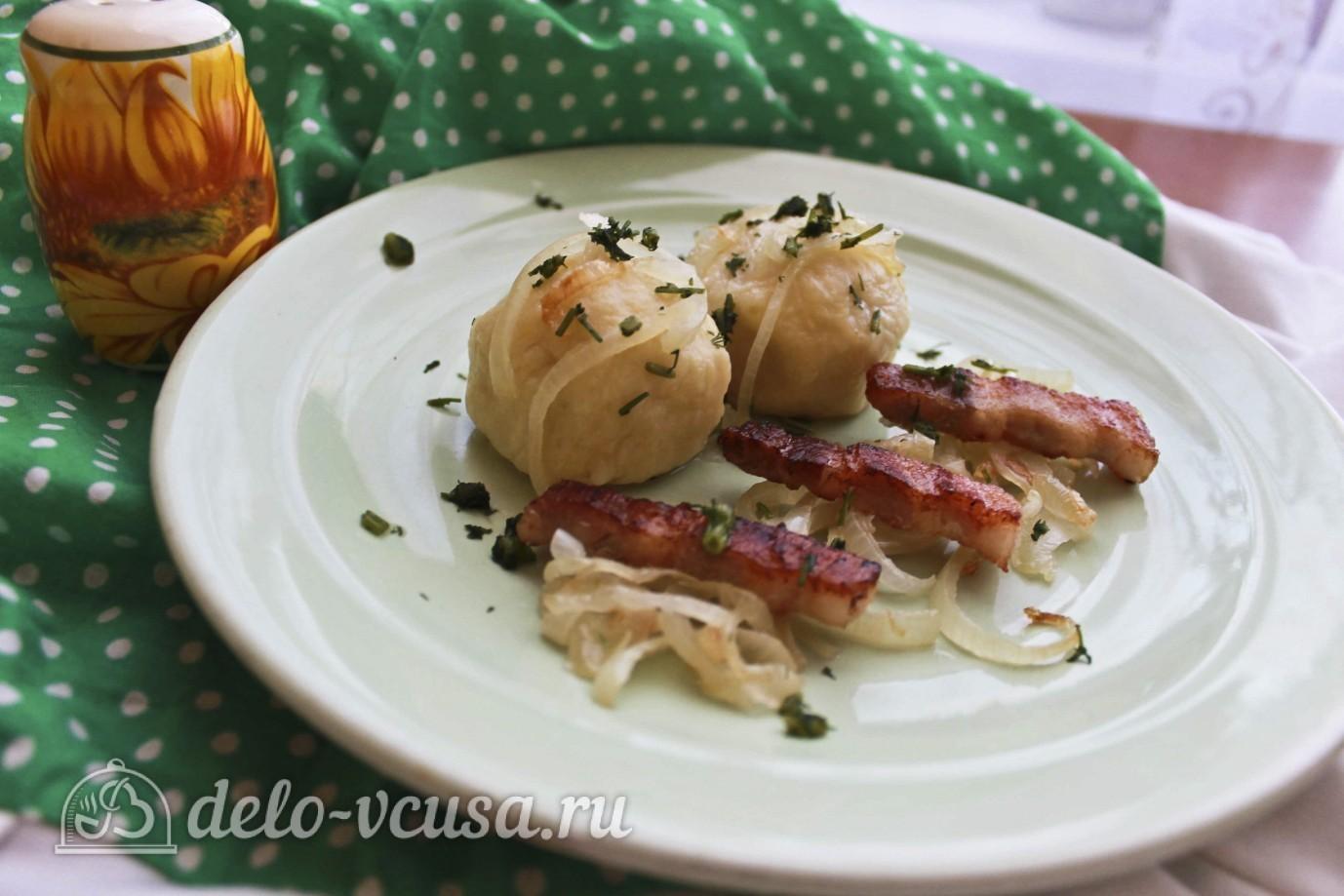 клецки картофельные с манкой рецепт