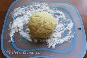 Картофельные клецки: Замешиваем тесто